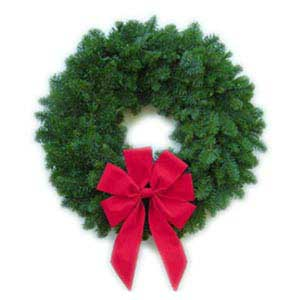 Christmas Noble Fir Wreath