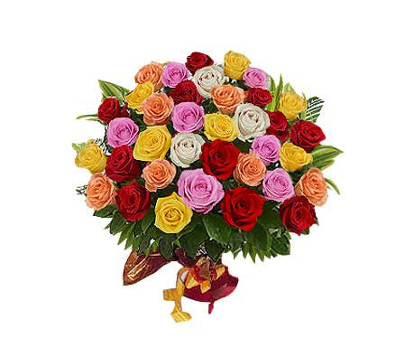 Mixed Roses Elegance