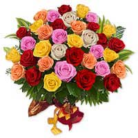 Multi Roses Arrangement