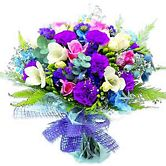 Pure Purple Bouquet - Contemporary
