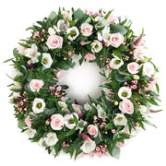 White Wreath - Spring Posy